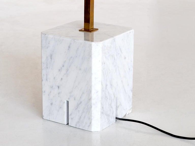 Mid-20th Century Ignazio Gardella LTE12 Prisma Floor Lamp, Azucena, 1960s For Sale