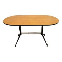 Ignazio Gardella Mid-Century Modern Italian Oval Table, 1950