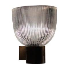 Ignazio Gardella Sconces Glass Brass, 1960, Italy