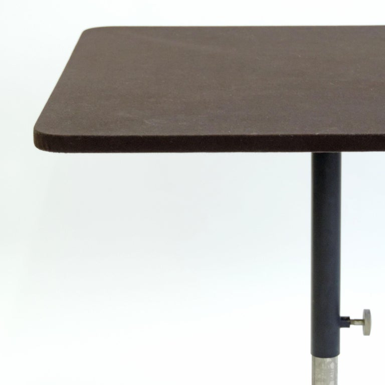 Ignazio Gardella 'T5' Adjustable Cocktail Table for Azucena, Italy, 1949 In Good Condition For Sale In Milan, IT