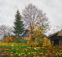 Late Fall, Painting, Oil on Canvas