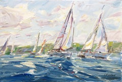 SAILBOATS IN THE SUMMER