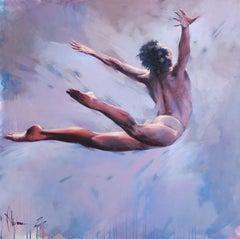 Like a bird, Painting, Oil on Canvas