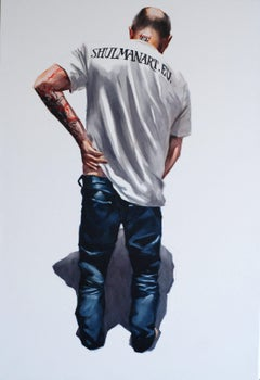 Self - portret., Painting, Oil on Canvas