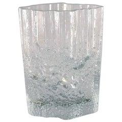 Iittala, Tapio Wirkkala Art Glass Vase, 1960s-1970s, Beautiful Finnish Design