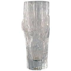 Iittala, Tapio Wirkkala Art Glass Vase, 1960s, Beautiful Finnish Design
