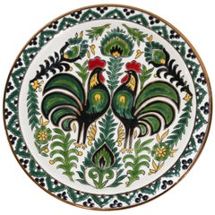 IKaros Hand Painted Decorative Plate Rhodes, Greece
