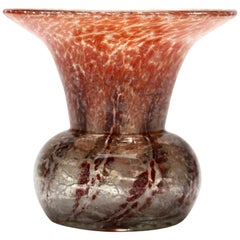 'Ikora' Art Glass Vase, Produced, by WMF in Germany, 1930s by Karl Wiedmann