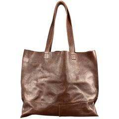 IL BISONTE Brown Leather TALAMONE Tote Handbag