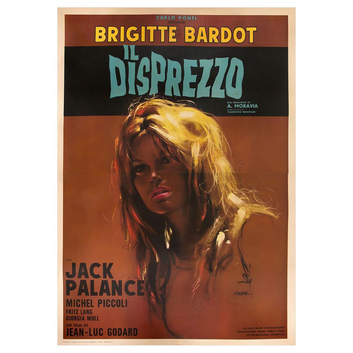 Il Disprezzo / Le Mépris / Contempt '1963' Poster