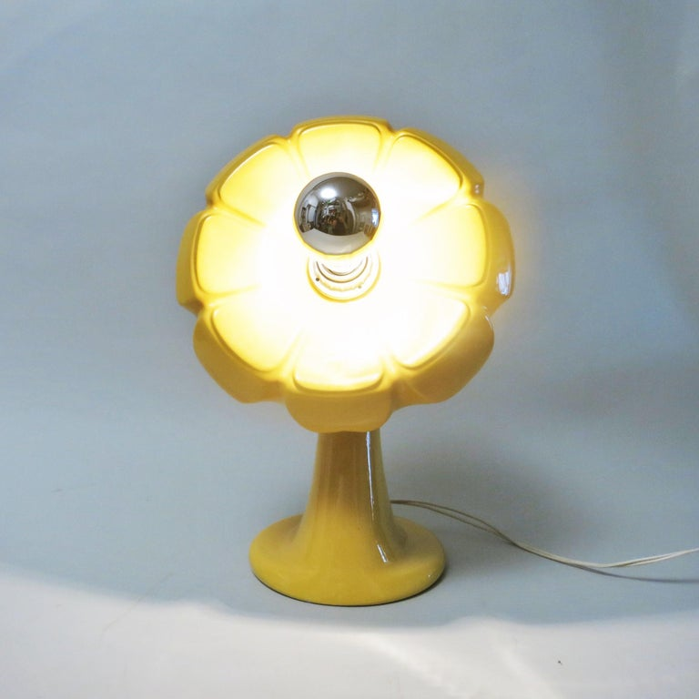 Il Picchio Flower Lamp by Enzo Bioli, 1960s For Sale 3