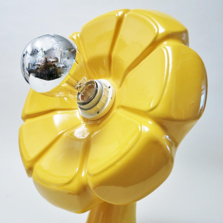 Il Picchio Flower Lamp by Enzo Bioli, 1960s For Sale 1
