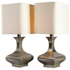 Il Punto la Bottega Pair of Table Lamps, 1970s