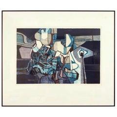 """Ilambonia"" Framed Print by Roberto Burle Marx, 1986 - 1stdibs New York"