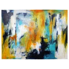 Ilene Kahan Abstract #14 Contemporary Acrylic Painting