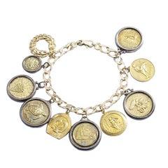 Ilias Lalaounis Gold Charm Bracelet
