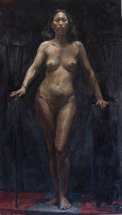 "Iliya Mirochnik, ""Competition Nude"", 42in x 24in"
