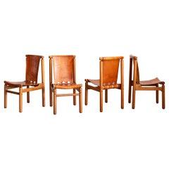Illmari Tapiovaara Dining Chairs, Set of 4