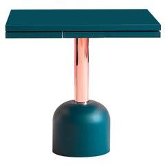 Illo Plus Table with Copper Column by Miniforms Lab