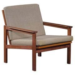 Illum WikkelsøCapella Lounge Chair in Teak, Produced by N. Eilersen
