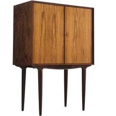 Illum Wikkelsø Danish Rosewood Bar Cabinet