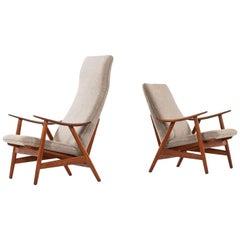 Illum Wikkelsø Easy Chairs Model 10 by Søren Willadsen Møbelfabrik in Denmark