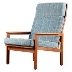 Illum Wikkelsø Highback Capella Lounge Chair in Teak