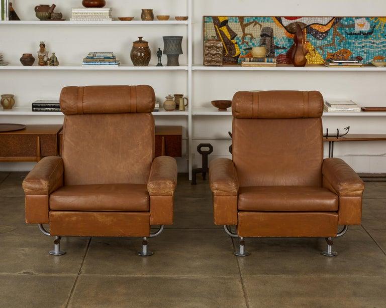 Mid-Century Modern Illum Wikkelsø Lounge Chair For Sale