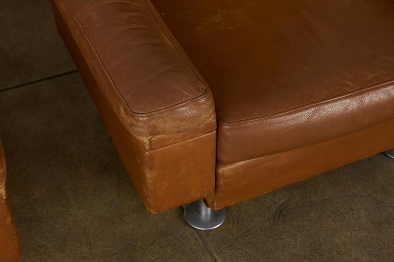 Leather Illum Wikkelsø Lounge Chair For Sale