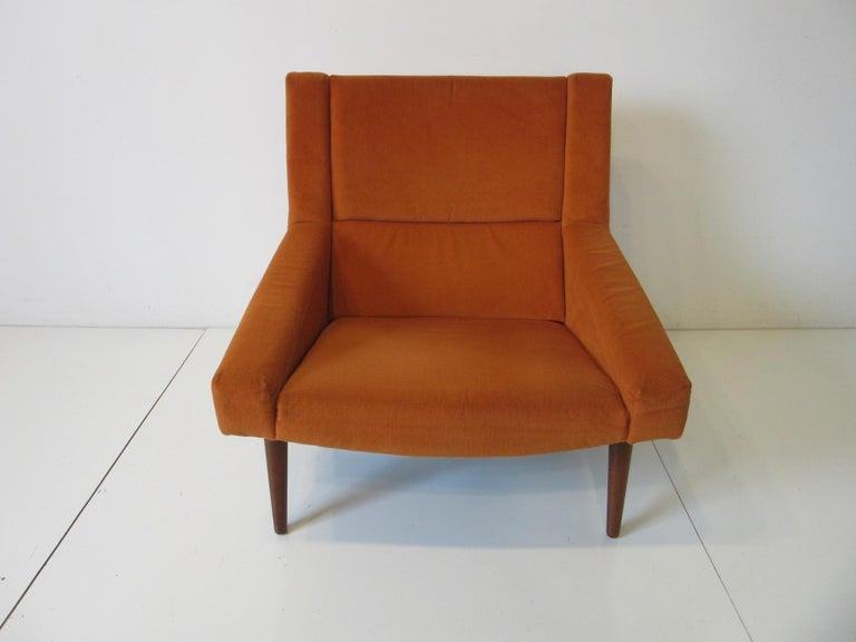 Illum Wikkelsø Lounge Chair for Soren Willadsen, Denmark In Good Condition For Sale In Cincinnati, OH