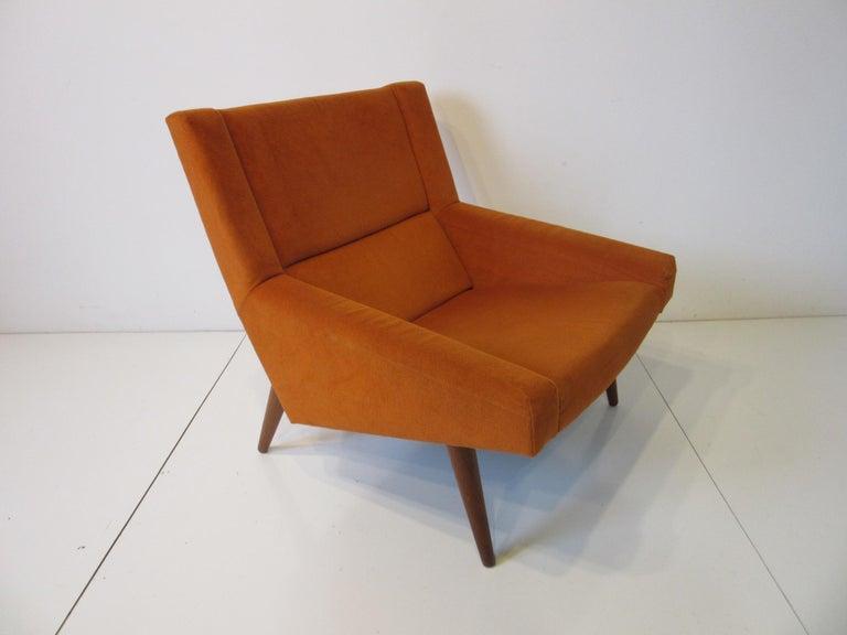Illum Wikkelsø Lounge Chair for Soren Willadsen, Denmark For Sale 1
