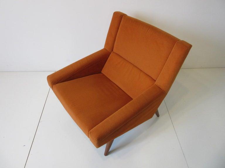 Illum Wikkelsø Lounge Chair for Soren Willadsen, Denmark For Sale 2