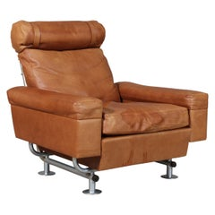 Illum Wikkelsø Lounge Chair, Rosewood
