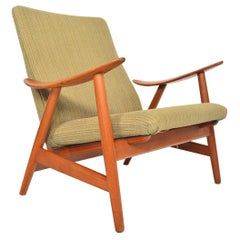 Illum Wikkelsø Model 10 Danish Modern Midcentury Lounge Chair in Teak