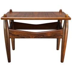 1950s Illum Wikkelsø Nº 272 Rosewood Cocktail Table Danish Mid-Century Wikkelso