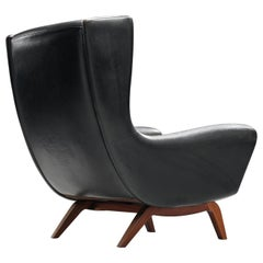 Illum Wikkelsø Original Leather Lounge Chair