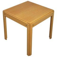 Illum Wikkelsø Side Table in Oak by CFC Silkeborg in Denmark