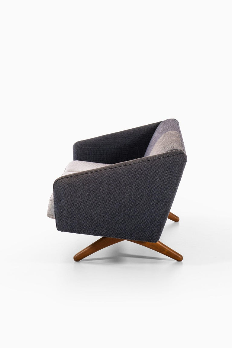 Mid-20th Century Illum Wikkelsø Sofa Model ML-90 Produced by Michael Laursen in Denmark For Sale