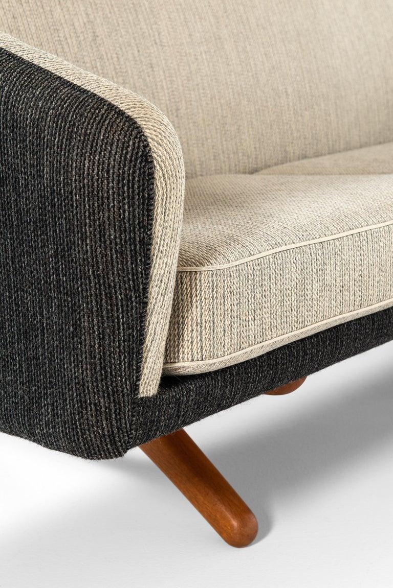 Illum Wikkelsø Sofa Produced by Michael Laursen in Denmark For Sale 3