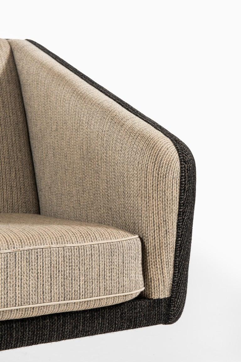 Scandinavian Modern Illum Wikkelsø Sofa Produced by Michael Laursen in Denmark For Sale