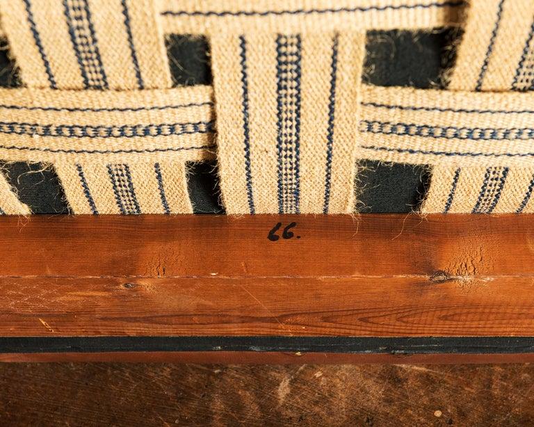 Illum Wikkelsø Sofa V11 in Brown Leather for Holger Christiansen, Denmark, 1960s For Sale 9