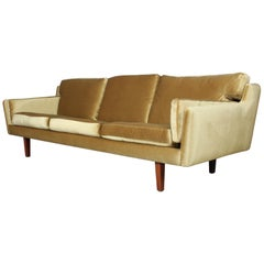 Illum Wikkelsø Three-Seat Sofa