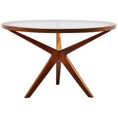 Illum Wikkelso Attributed Dining Table, Denmark, 1960