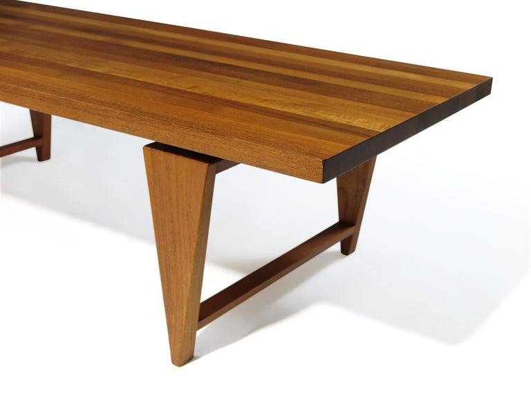 Scandinavian Modern Illum Wikkelso Coffee Table For Sale