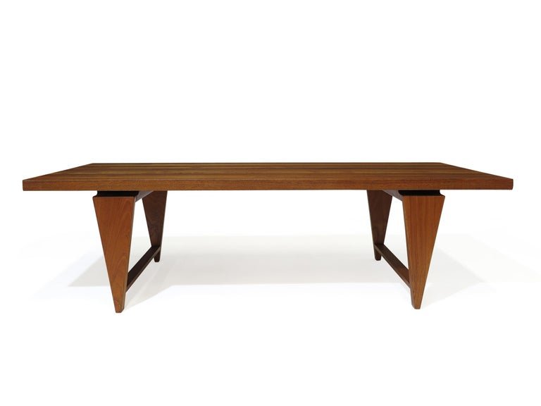 Oiled Illum Wikkelso Coffee Table For Sale