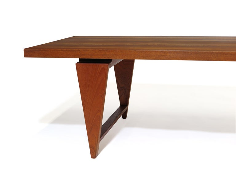 20th Century Illum Wikkelso Coffee Table For Sale