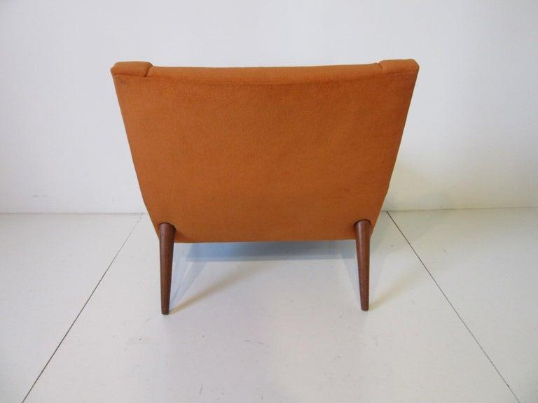 Danish Illum Wikkelsø Lounge Chair for Soren Willadsen, Denmark For Sale