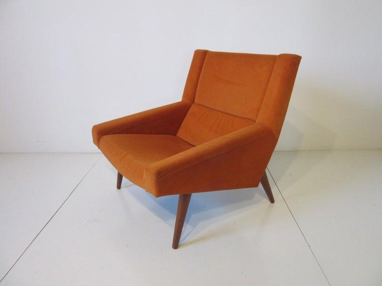 20th Century Illum Wikkelsø Lounge Chair for Soren Willadsen, Denmark For Sale