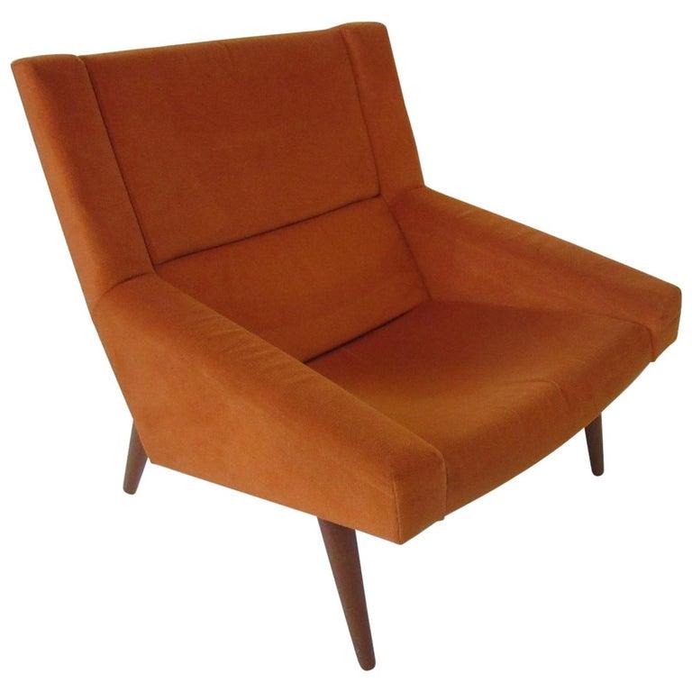 Illum Wikkelsø Lounge Chair for Soren Willadsen, Denmark For Sale
