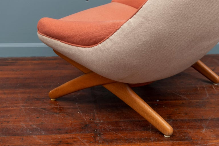 Mid-20th Century Illum Wikkelso Lounge Chair, Model ML-91 For Sale